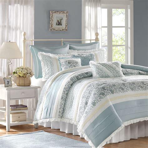 Bedding Sets by Chic Blue Lace 9pc Comforter Set Cottage