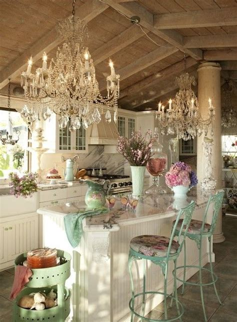 32 Sweet Shabby Chic Kitchen Decor Ideas To Try Shelterness Shabby Chic Kitchen Accessories