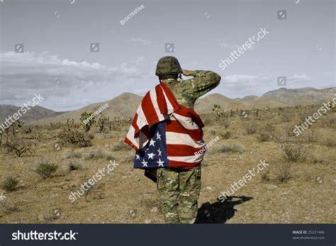 patriotic soldiers patriotic soldier stock photo 25221466