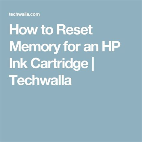how to reset hp 2520hc printer the 25 best reset ink cartridge ideas on pinterest ink