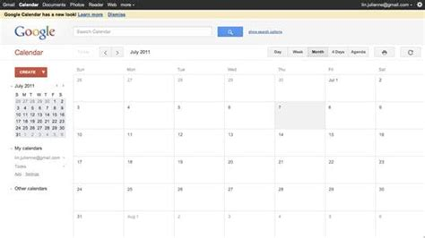gmail calendar themes getting gmail s new theme is a piece of cake apartment
