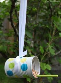 Bird Feeder Activity Soup Can Bird Feeders For Recycling And A