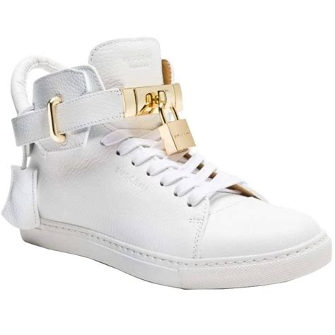 buscemi sneakers mens buscemi 100mm high top sneaker white athletic shoes