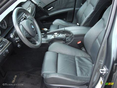 2005 Bmw 525i Interior by Black Interior 2005 Bmw 5 Series 545i Sedan Photo