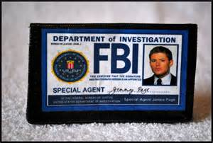 fbi business cards on etsy
