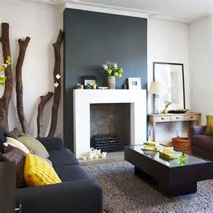 Style At Home by Charcoal Grey And White Living Room Living Room