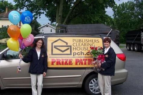 Publishers Clearing House Prize - waiting for the prize patrol to come to my house kristi