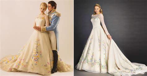The official Disney Cinderella wedding dress is out