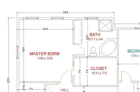 bedroom floor plan designer master bedroom floor plans designs decorin