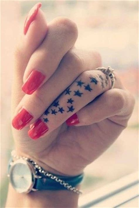 finger tattoo girl tumblr star finger tattoo pictures photos and images for