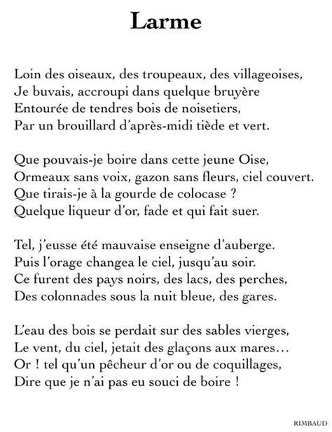 Le Dormeur Du Val Date by Arthur Rimbaud Larme Po 233 Sie The
