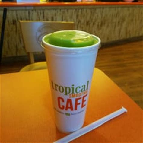 Tropical Smoothie Cafe Detox Smoothie Recipe by Tropical Smoothie Cafe 16 Photos 12 Reviews Juice