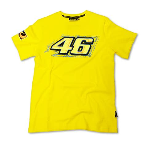 T Shirt 46 valentino 46 vr46 official racing apparel shirt t