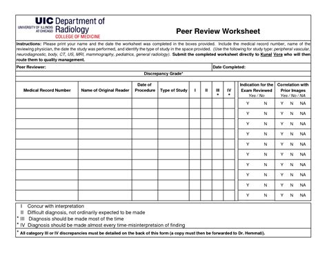 peer review template best photos of chart review template blank vital