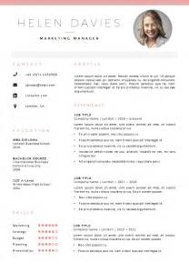 Best Resume Template Uk by Cv Template London Cv Cover Letter Template In Word