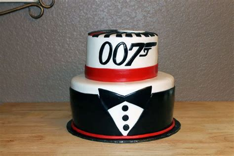 james bond themed birthday cakes james bond 007 birthday cake bond party pinterest
