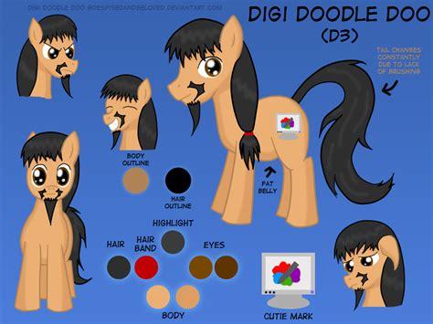 doodle doo digi doodle doo reference by despisedandbeloved on deviantart