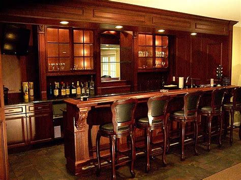 Handmade Bars - distinctive wood work inc custom cabinetry and