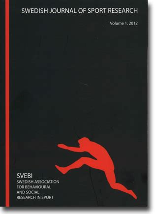 swedish design research journal call for papers swedish journal of sport research 2016