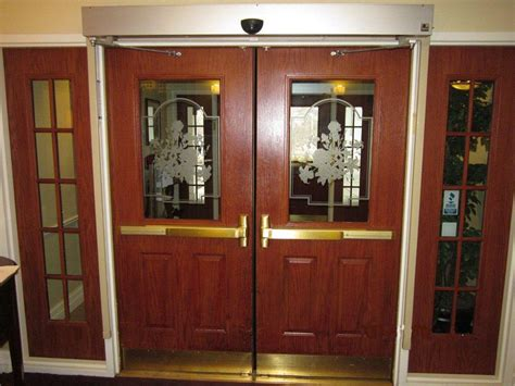 automatic swing door automatic swinging doors vortex doors