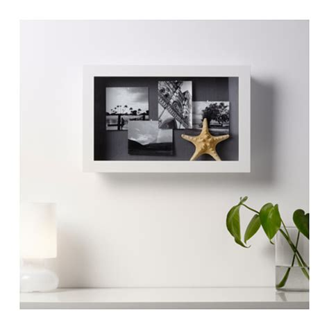 white display kasseby display box white 30x47x8 cm ikea