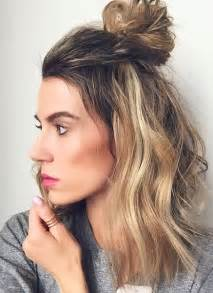 bun styles for american with medium length hair 17 best ideas about shoulder length hairstyles on