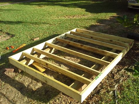 Foundation For Shed Base by Donn Shed Skid Foundation 8x10x12x14x16x18x20x22x24