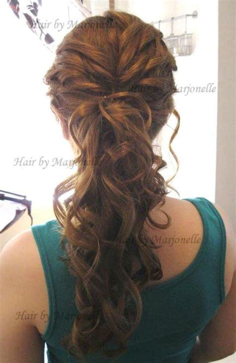 Fancy Ponytail Hairstyles by Fancy Ponytail Hair And