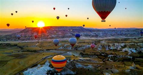 capadocia vuelo en globo aerostatico al amanecer goereme