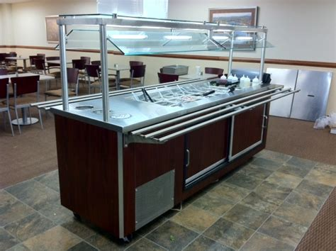 universal coolers rbt4sc refrigerated buffet table