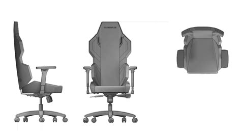 Download Floor Plan by Quersus Chair E300 Fnatic Fnatic