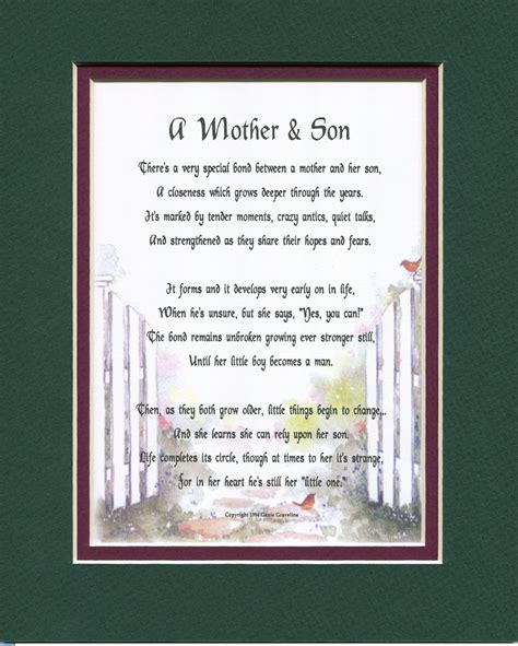 Mother  Ee  Son Ee   Christmas Cards Mother  Ee  Birthday Ee   Gifts