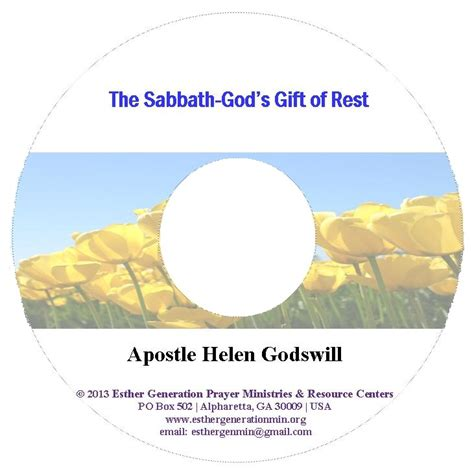 the sabbath god s gift of rest