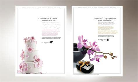 Marriott Wedding Brochure by Our Work