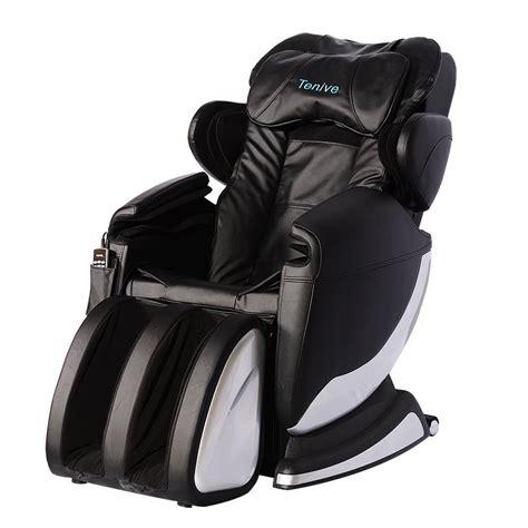 Zero Gravity Shiatsu Chair by Tenive Zero Gravity Shiatsu Chair
