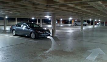 parking garage lighting levels cus makes green changes intranet bloomu edu
