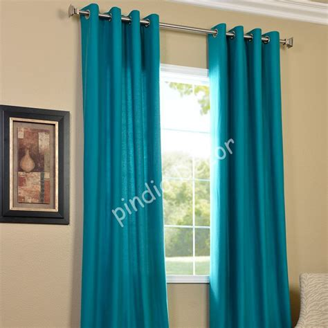 turquoise drapes curtains home kitchen furnishing curtains and accessories