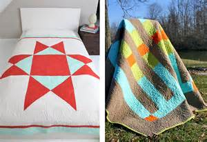 jones wonky block modern quilting project sew4home