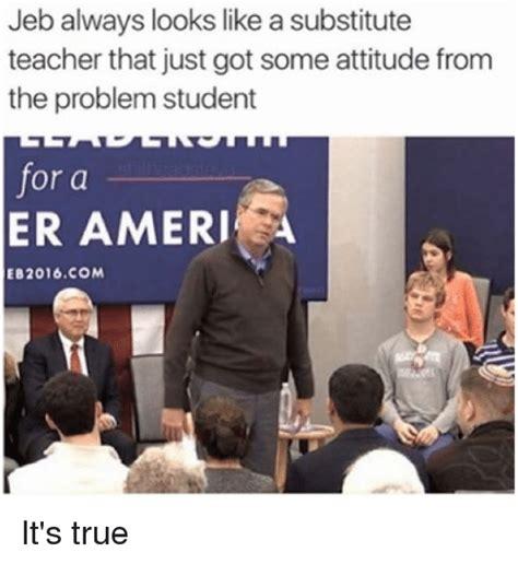 jeb     substitute teacher