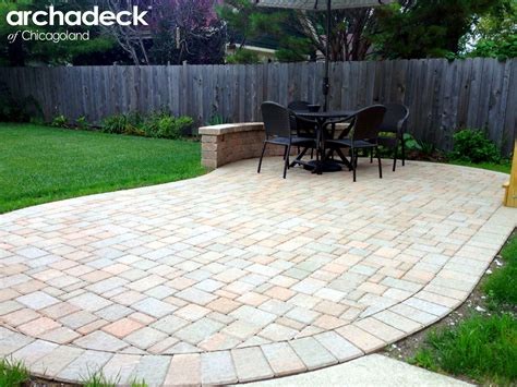 What Is A Paver Patio Why Should I Use Pavers For My Chicagoland Patio Outdoor Living With Archadeck Of Chicagoland