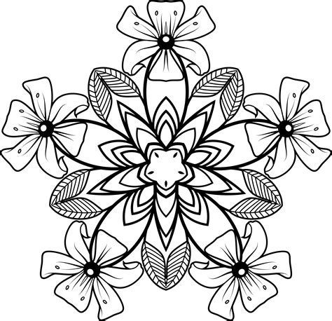 design flower black and white clipartx info black and white floral design free