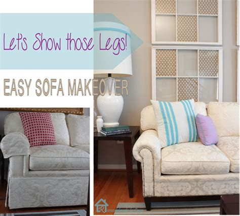 Sofa Makeover by Easy Sofa Makeover And Living Room Mini Makeover Pretty