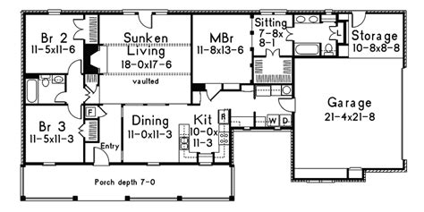 house plans with sunken living room house plans sunken living room eplans mediterranean house plan home features