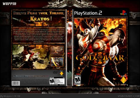 film god of war ps 2 god of war iii playstation 2 box art cover by wuppin