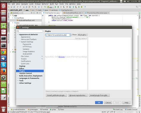 android studio twitter tutorial installing twitter fabric to your android studio