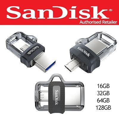 Sandisk Dual Drive M3 0 Otg 32gb qoo10 sandisk ultra dual drive m3 0 16gb 32gb 64gb 128gb