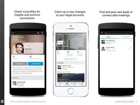 navigator mobile linkedin sales navigator mobile iphone and android