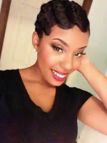 Pictures short hairstyles short black curly haircut