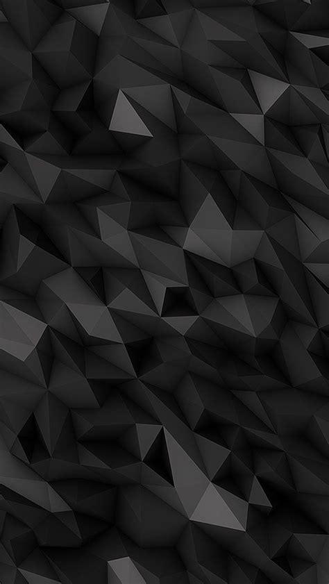 black polygons wallpaper iphone cute wallpapers