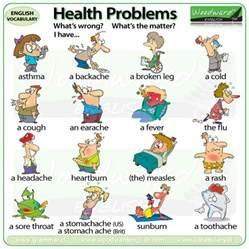 health problems vocabulary
